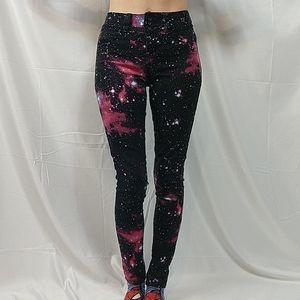 Galaxy skinny jeans